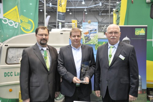 DCC Technology Award 2015 ceremony in Leipzig